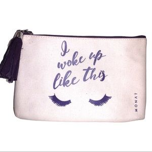 NEW Monat Makeup Cosmetic Bag